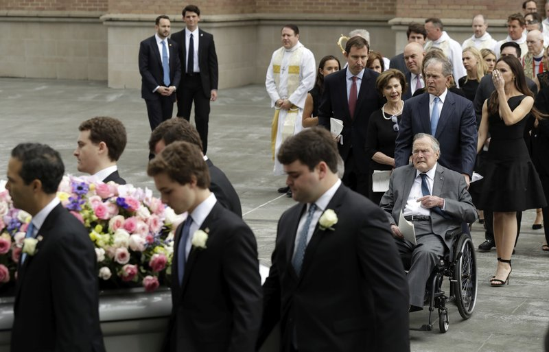 Laughter Tears As Former First Lady Barbara Bush Remembered