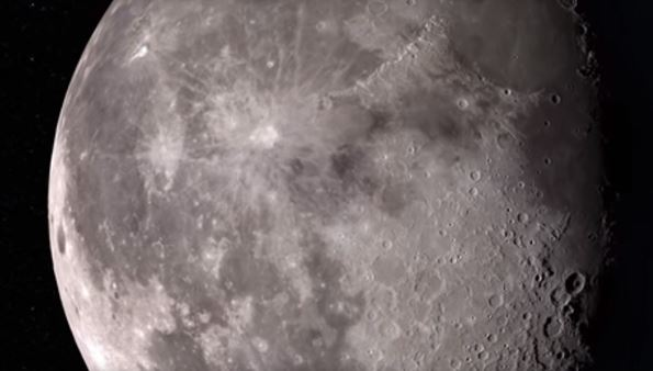 NASA video shows moon's surface in stunning 4K resolution