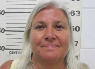 Mugshot of Lois Riess courtesy of South Padre Island Police Department.