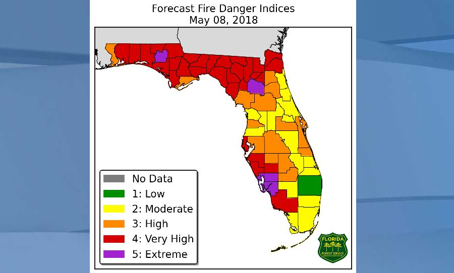 Red Flag Warning Issued For Parts Of Swfl