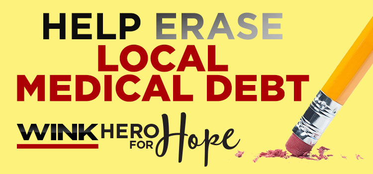 Hero for Hope Erasing Medical Debt