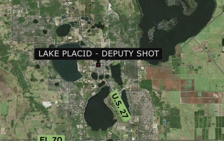 Florida deputy airlifted to hospital after shooting in Highlands County