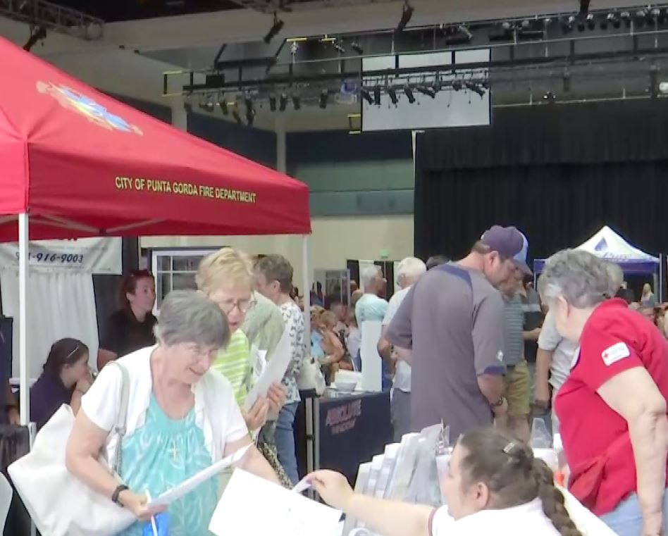 Hundreds attend Saturday's hurricane expo in Charlotte County