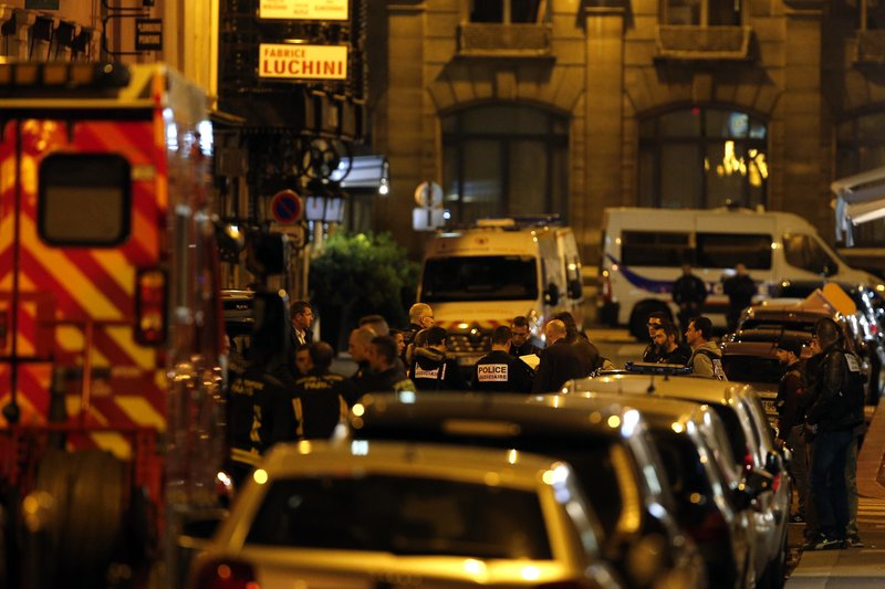 Paris stabbings investigated as terror attack, claimed by IS