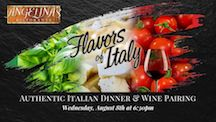 Flavors of Italy Wine Dinner
