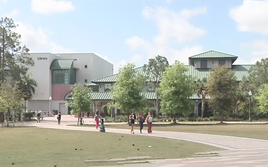 FILE- Florida Gulf Coast University campus (WINK News)