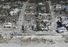 Mexico Beach, Florida after Hurricane Michael. Credit: Chris O'Mera AP