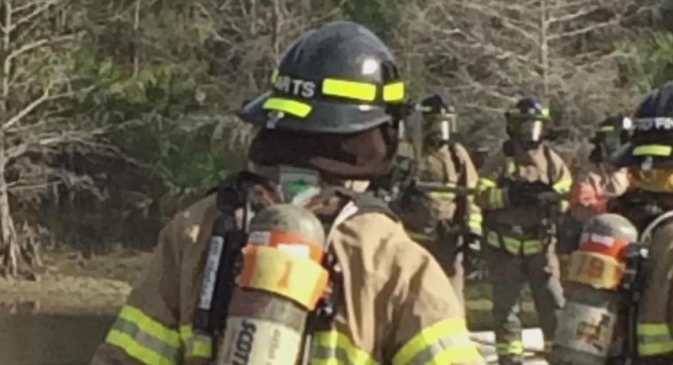 First responder mental health. Photo via WINK News.