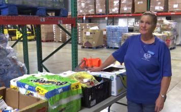 Hurricane Michael food bank