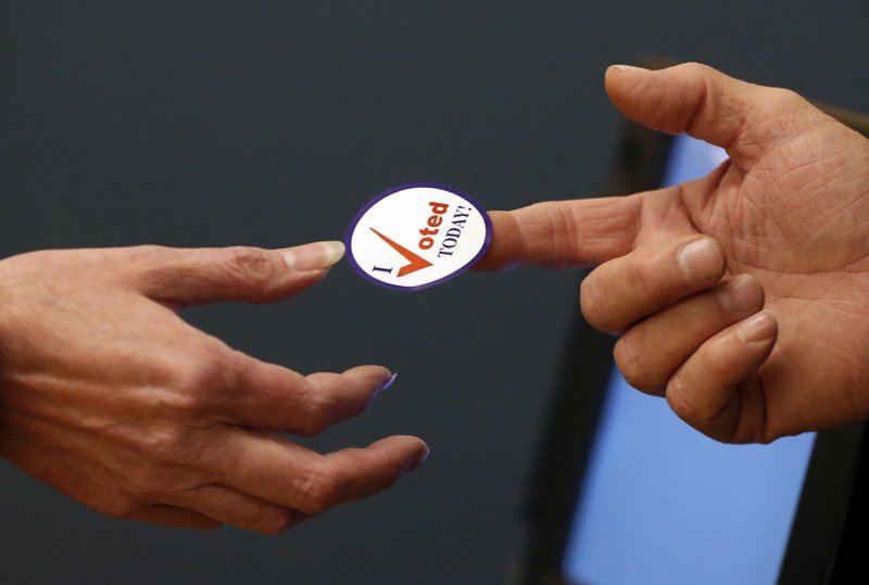 FILE: Voter election photo. (Credit: AP News/FILE)