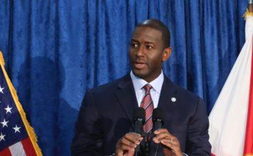 Former Tallahassee Mayor Andrew Gillum. AP photo.