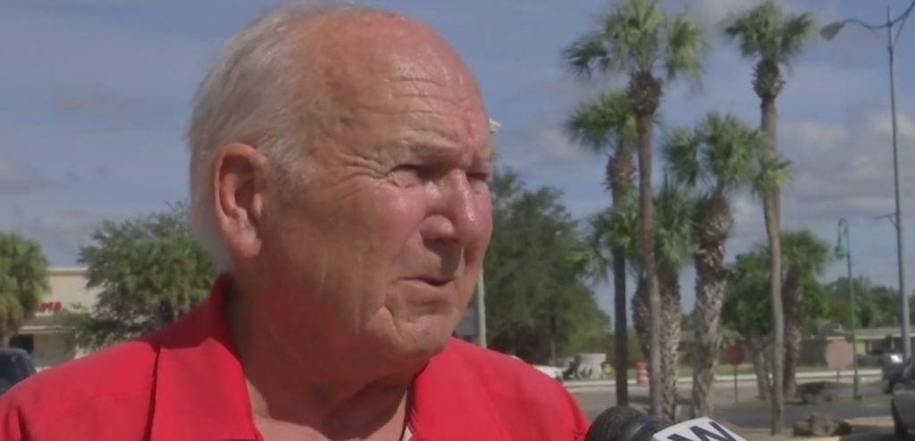 Bob Paolella wants Lehigh Acres to become an incorporated city. Photo via WINK News.