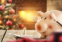 Keeping the holiday joyous and less stressful means keeping a firm rein on our spending. Photo via CBS Money.