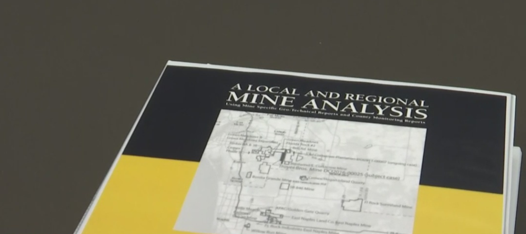 New report to be reviewed by the Estero City Council. Photo via WINK News.