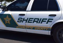 Police vehicle. Photo via Charlotte County Sheriff's Office.