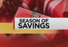 Season of Savings. Photo via WINK News.