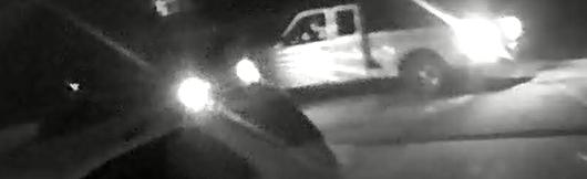 Suspect in stolen vehicle. Photo via CCSO.