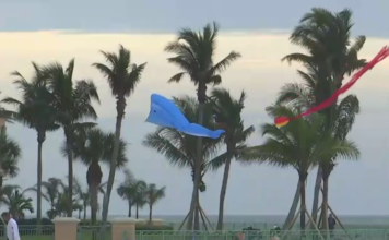 Bad weather expected Thursday in SWFL. Photo via WINK News.