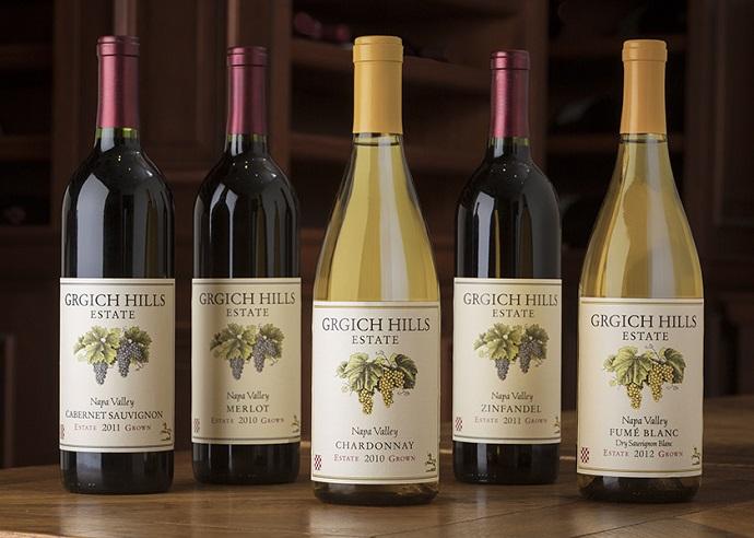 Grgich Hills Wine Dinner