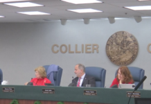 Commissioners meeting on Thursday. Photo via WINK News.