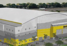 Hertz Arena new design, which was approved on Wednesday, Dec. 12. Photo via WINK News.