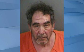 Mugshot of Peter Tremont. Photo via Marco Island Police Department.