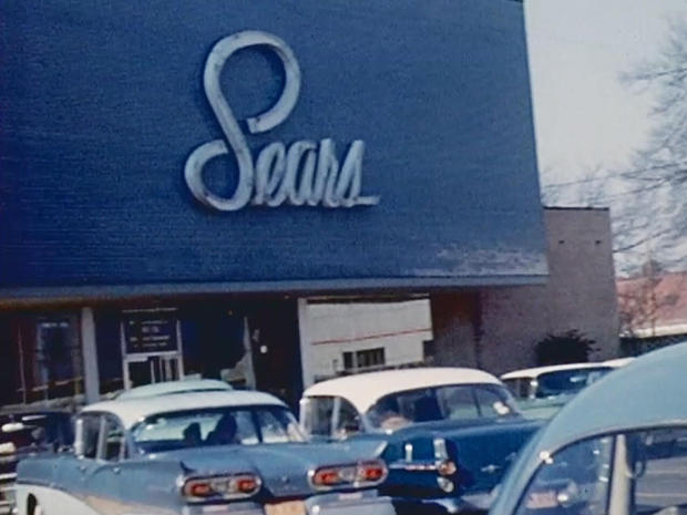 Sears was the nation's largest retailer under it was overtaken by Walmart in the 1990s. Photo via CBS News.