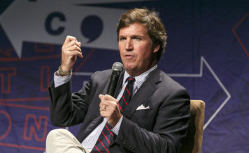 Tucker Carlson. Photo via CBS News.