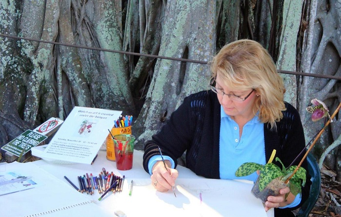 Drawing in the Gardens with Megan Kissinger
