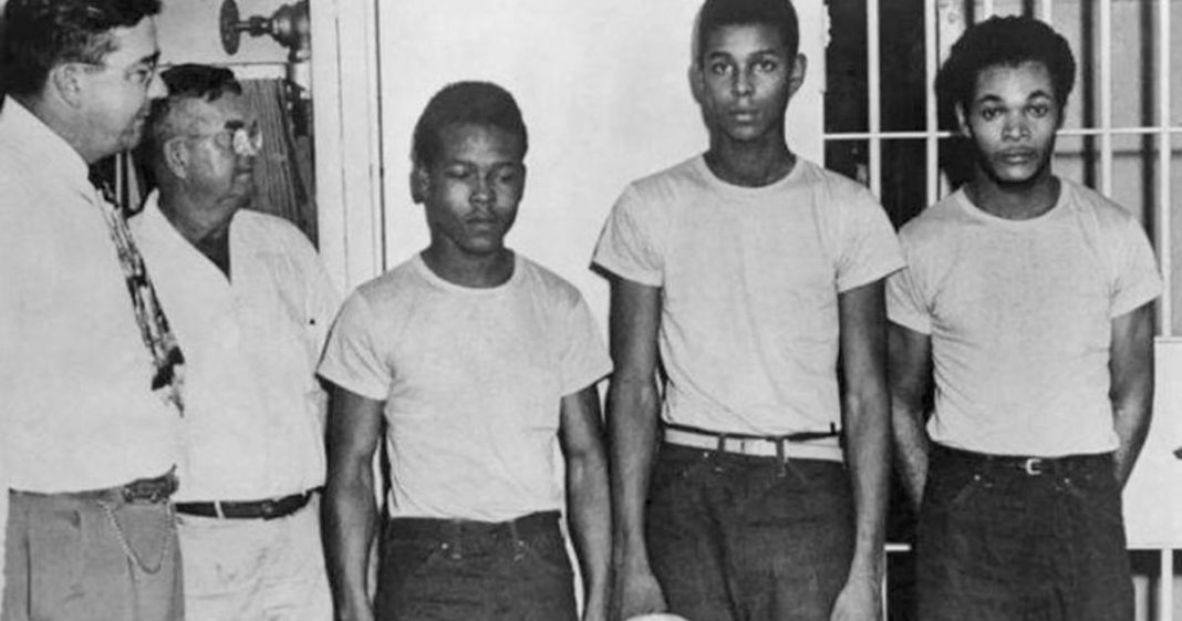 """""""Groveland Four,"""" who were in one of the most-notorious cases from Florida's Jim Crow era, were pardon Friday. Photo via CBS News."""