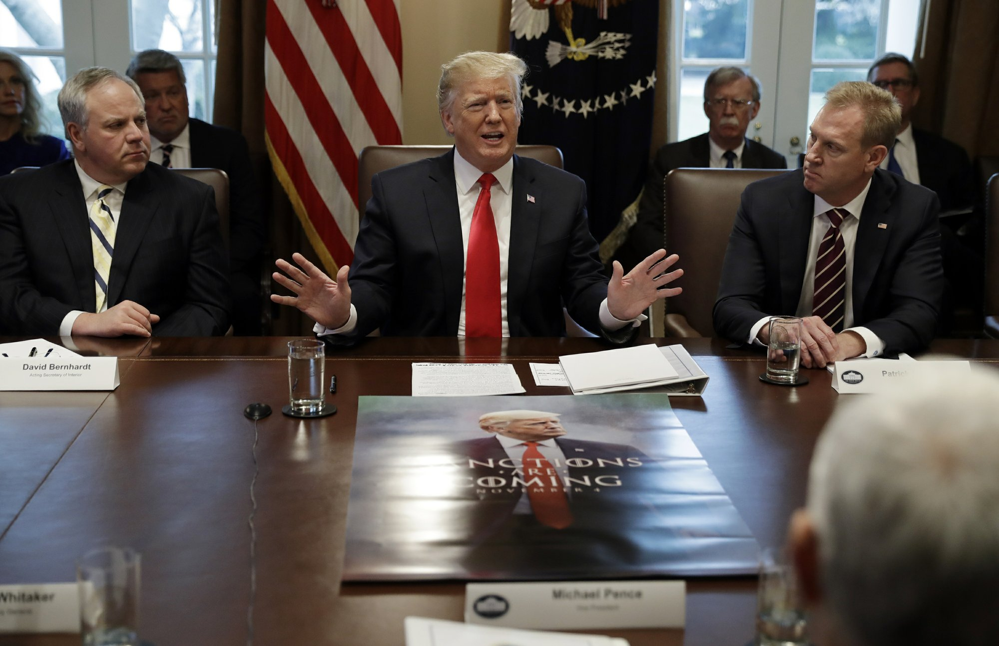 No Deal To End Shutdown Trump Says Could Be A Long Time