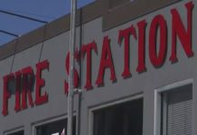 A Fort Myers Beach fire station. Photo via WINK News.