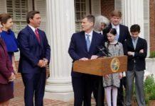 Gov. Ron DeSantis names Carlos Muniz to the Florida Supreme Court. News Service Florida photo.