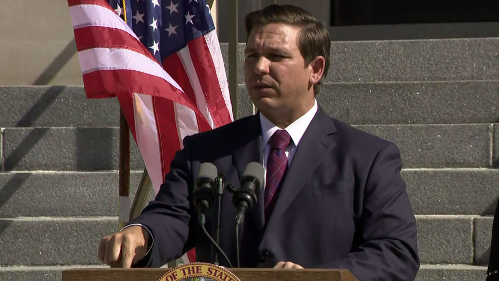 DeSantis presses lawmakers for pot changes