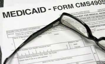 Medicaid documents. CBS News photo.