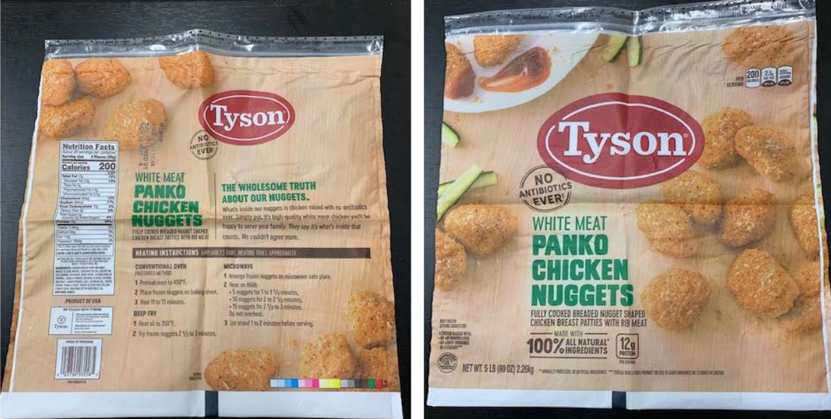 Tyson Foods Recalls Over 36000 Pounds Of Chicken Nugget Products