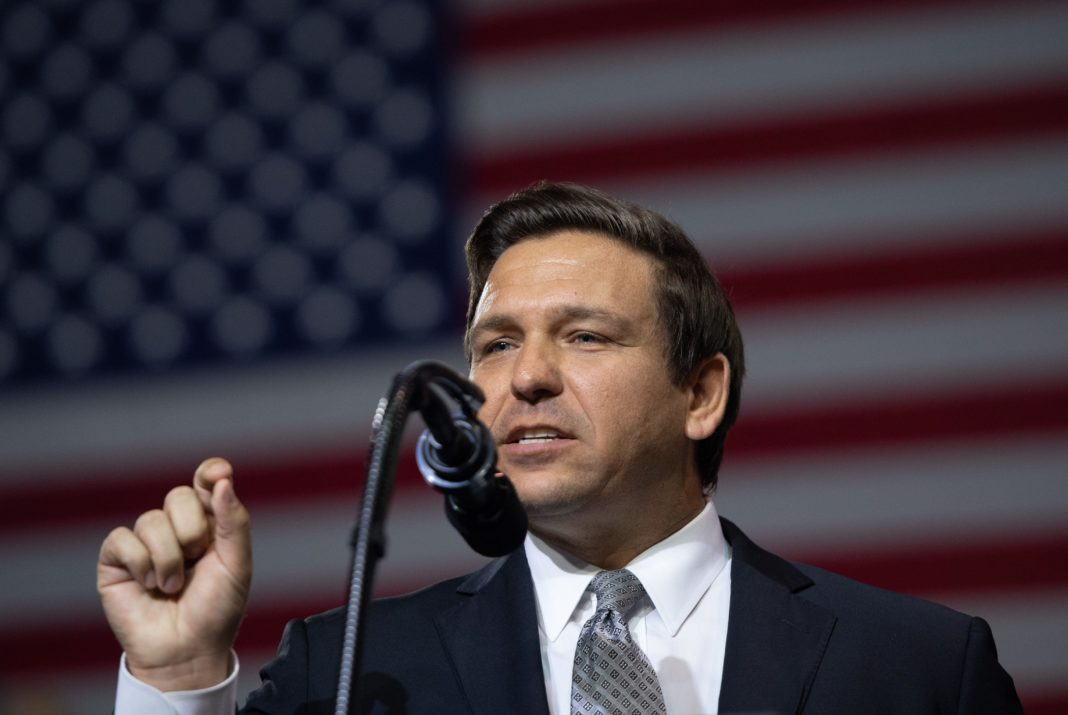 Gov. Ron DeSantis. (CBS News photo)