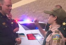 Shop With A Cop event in 2018. (WINK News photo)
