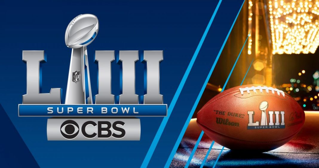 Super Bowl LIII. (CBS News photo)