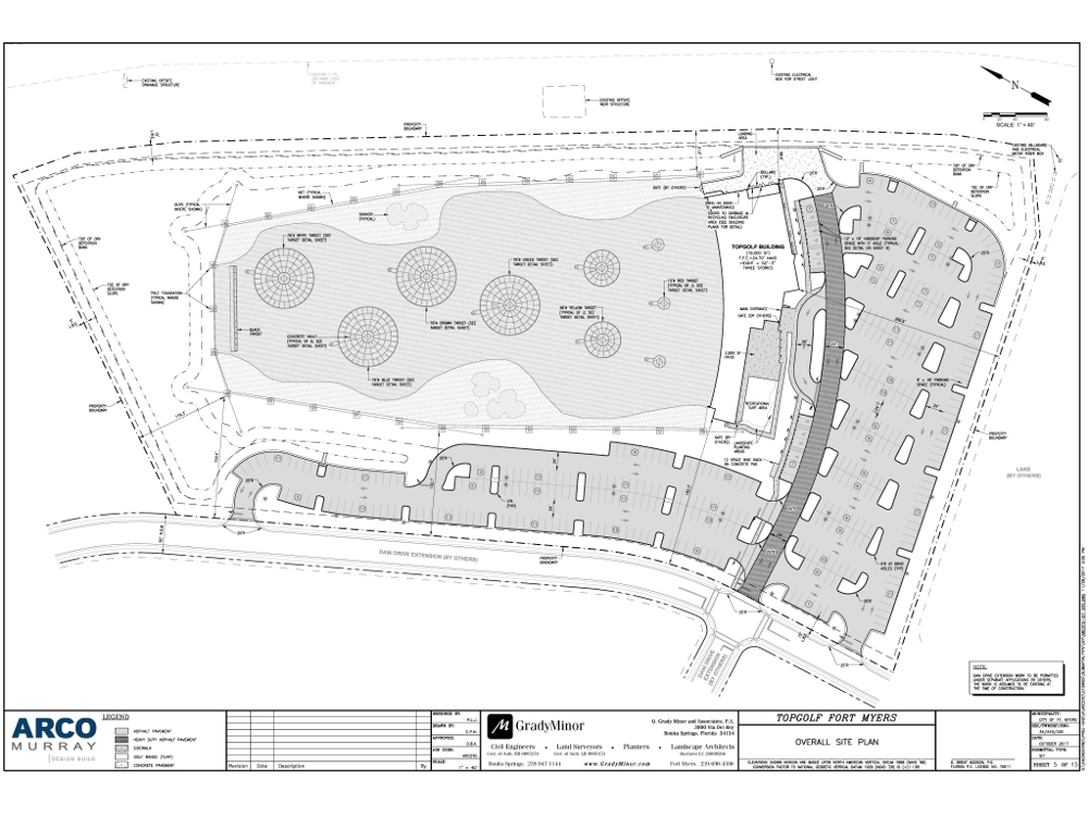 Sneak peak of the new Fort Myers Topgolf blueprints and location