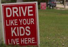 FILE: Anti-speeding signs. (Credit: WINK News/FILE)