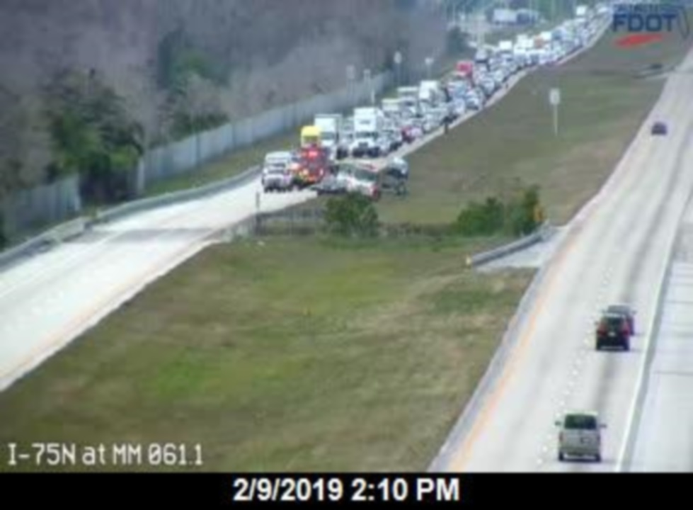 All lanes reopened after Collier County crash on I-75