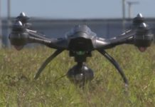 A drone moments before flight. (WINK News photo)