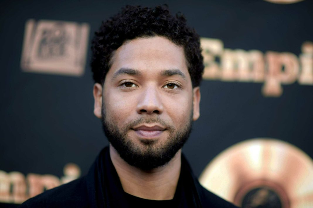 FILE - In this May 20, 2016 file photo, actor and singer Jussie Smollett attends the