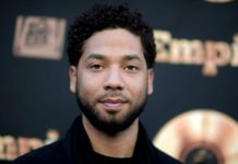 """FILE - In this May 20, 2016 file photo, actor and singer Jussie Smollett attends the """"Empire"""" FYC Event in Los Angeles. Chicago police said Sunday, Feb. 17, 2019, they're still seeking a follow-up interview with Smollett after receiving new information that """"shifted"""" their investigation of a reported attack on the """"Empire"""" actor. (Richard Shotwell/Invision/AP, File)"""