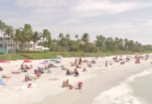 Beautiful beaches brings many short term renters to Collier County. (WINK News photo)