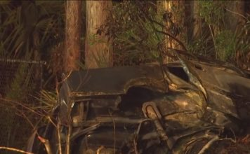 Crash in Bonita Springs leaves at least one person dead. (WINK News photo)