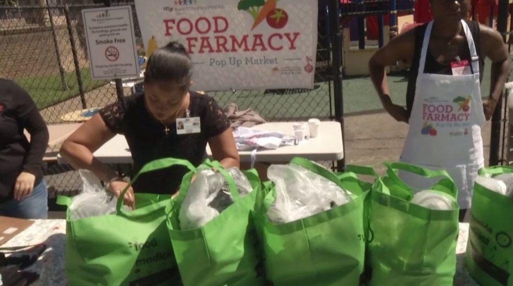 'Farmacist' packs food. (Ivanhoe Newswire photo)