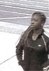 Female suspect in the Walmart theft. (CCSO photo)