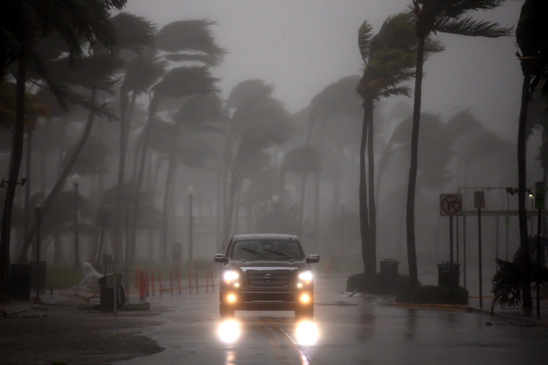Hurricane Irma left a trail of destruction leaving more than 3.3 million homes and businesses without power in Florida. (CBS News photo)